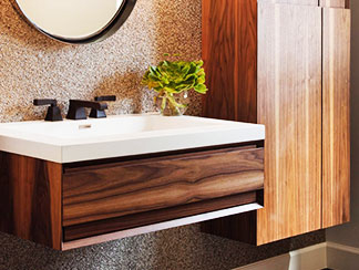 Bath Project Wall Cabinet Basin
