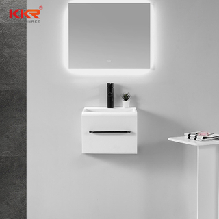 Bathroom Solid Surface Wall Hung Washing Freestanding Basin
