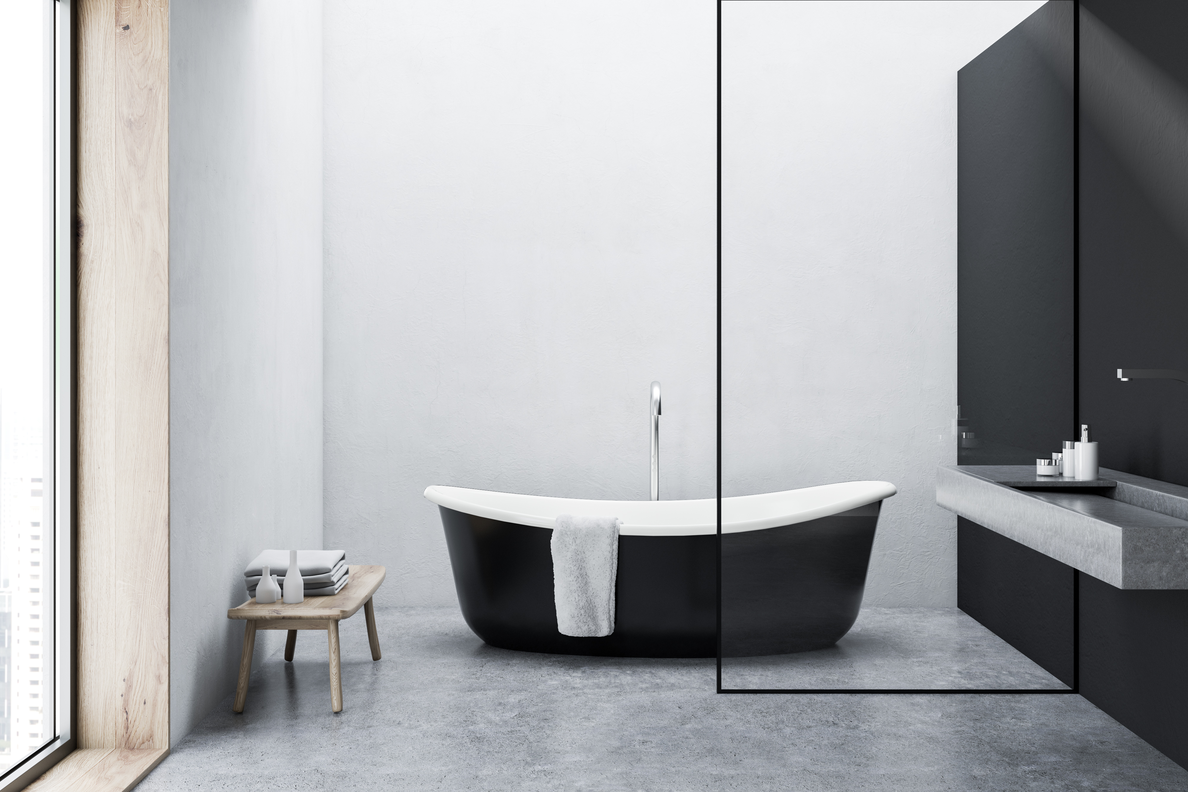 what is the standard size of a bathtub
