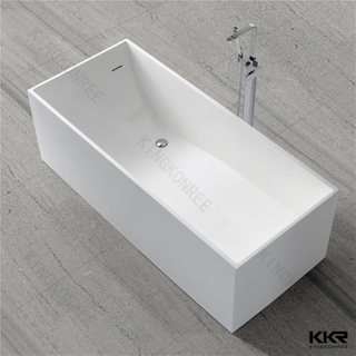 Solid surface rectangle bathtub KKR-B029