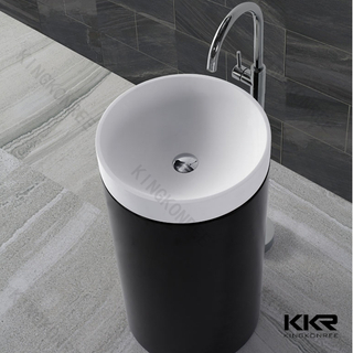 Small Size Solid Marble Wash Basin KKR-1397-1