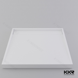 Square Solid Surface Shower Tray KKR-T001-A