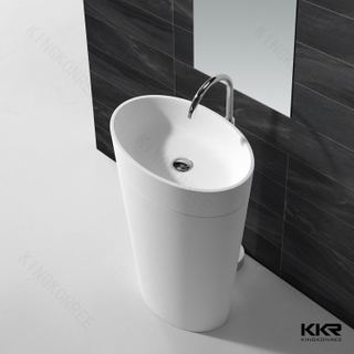 Chinese Resin Bathroom Wash Basin KKR-1587