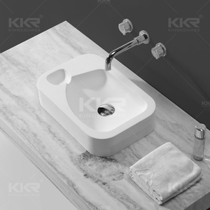 Solid Surface Wash Hand Basin KKR-1512